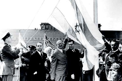 Criação do Estado de Israel (1948)   Foto: ilustração