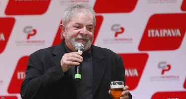 No evento da cervejaria, Lula condenou onda de otimismo em relação ao Brasil. Foto: Ricardo Fernandes/DP/D.A Press