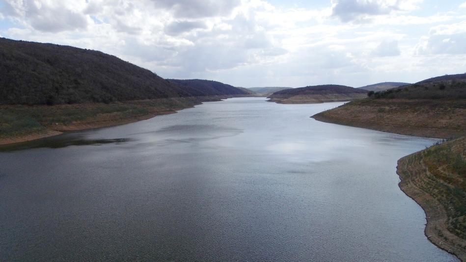 Barragem de Jucazinho, início de 2015