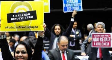 Câmara rejeita redução da maioridade penal
