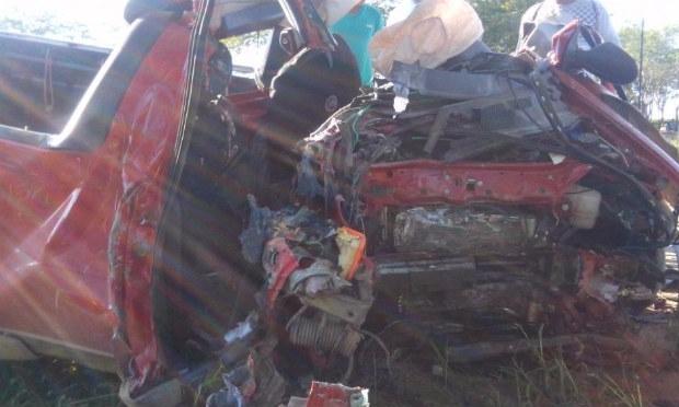 Motorista da caminhonete teria provocado acidente, segundo polícia | Foto: Divulgação/Paulo Farias.