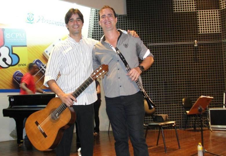 Lucas Guerra e Vlaudemir Vieira (Foto: Facebook/Reprodução)
