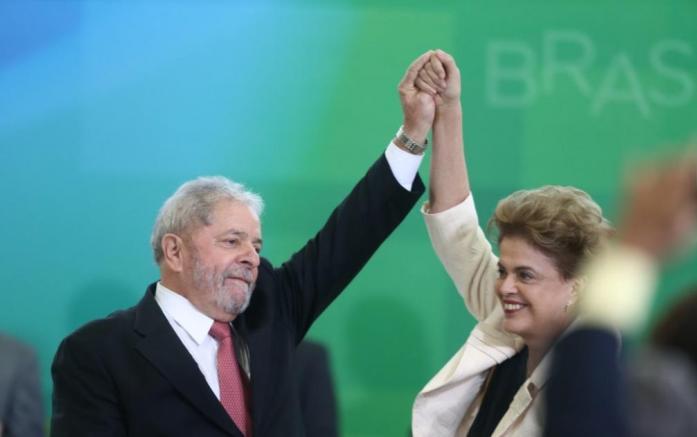Lula toma posse como novo ministro-chefe da Casa Civil. | Foto: Estadão Conteúdo