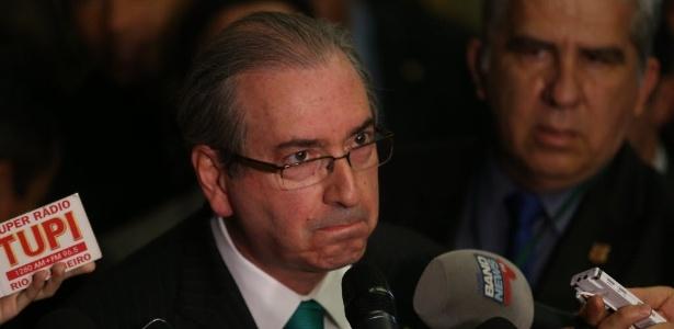 O presidente afastado da Câmara dos Deputados, Eduardo Cunha (PMDB-RJ), renunciou hoje ao posto.