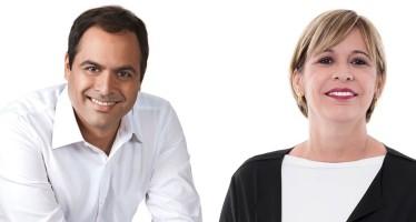 Paulo Câmara & Ana Célia. | Foto: Montagem/Divulgação/Facebook/Google Imagens