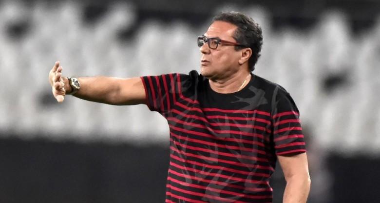 Vanderlei Luxemburgo elogiou a equipe do Botafogo (Foto: André Durão)