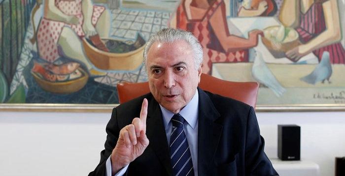 """Segundo investigadores, Temer e aliados se organizaram para obter """"vantagens indevidas"""" na administração pública (Foto: Dida Sampaio/AE)"""
