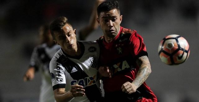 Lucca marcou para a Macaca, que teve um jogador a menos durante boa parte do jogo, mas, como venceu o primeiro jogo por 3 a 1, o Leão avança e pega o Junior Barranquilla-COL.