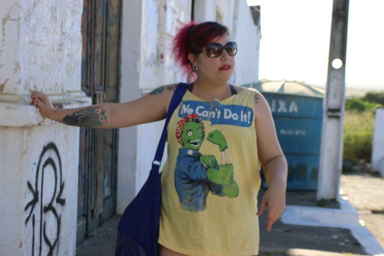 Baixista da Mennarca, Sissy Gomes. | Lulu/Surubim News