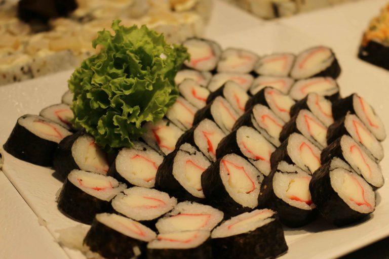 Rodízio de sushi do Restaurante Masayuki. | Foto: Surubim News