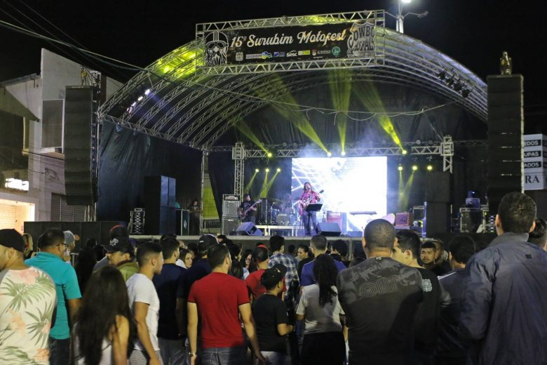 15º Moto Fest de Surubim. | Foto: Lulu/Surubim News