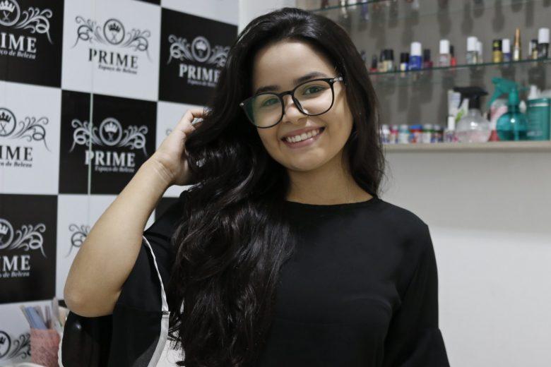 Patricia Ferreira no salão de beleza, Prime. Foto: Lulu/Surubim News