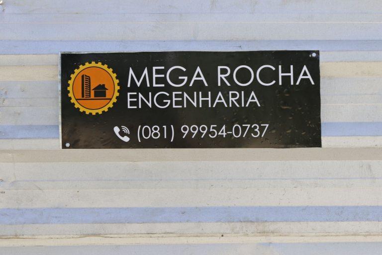 Mega Rocha Engenharia   Foto: Lulu/Surubim News