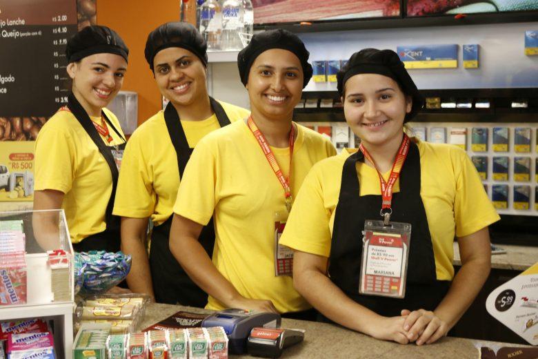 Equipe Select: Mari, Jaciele, Karla & Gaby. | Foto: Lulu/Surubim News