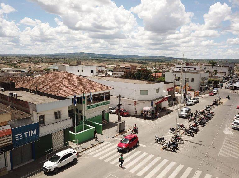 Prefeitura de Surubim, localizada na Rua João Batista. | Foto: Lulu/Surubim News