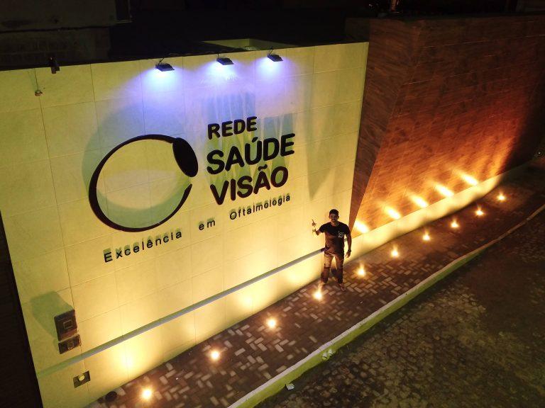 Obra executada pela Mega Rocha: Rede Saúde Visão. | Foto: Lulu/Surubim News