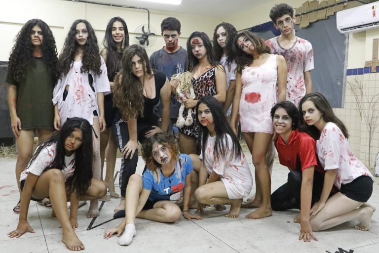 Halloween 2019 da ETE.   Foto: Lulu/Surubim News